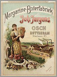 Διαφήμιση μαργαρίνης από την Jurgens, το 1893 (photo credit: wikipedia)