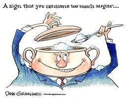 Ενδείξεις ότι καταναλώνετε πολύ ζάχαρη! (photo credit: http://www.davegranlund.com)