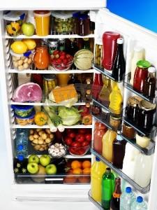 Ψυγείο γεμάτο τρόφιμα