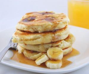 banana-sour-cream-pancakes